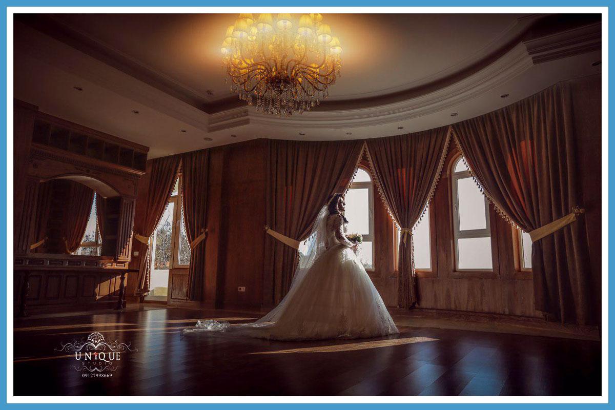 عکس آتلیه عروس در غرب تهران