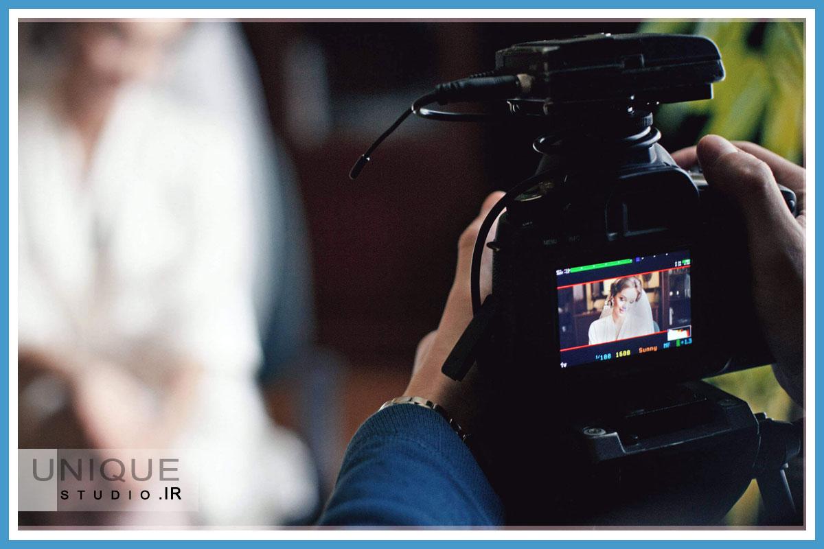 فیلمبرداری عروسی
