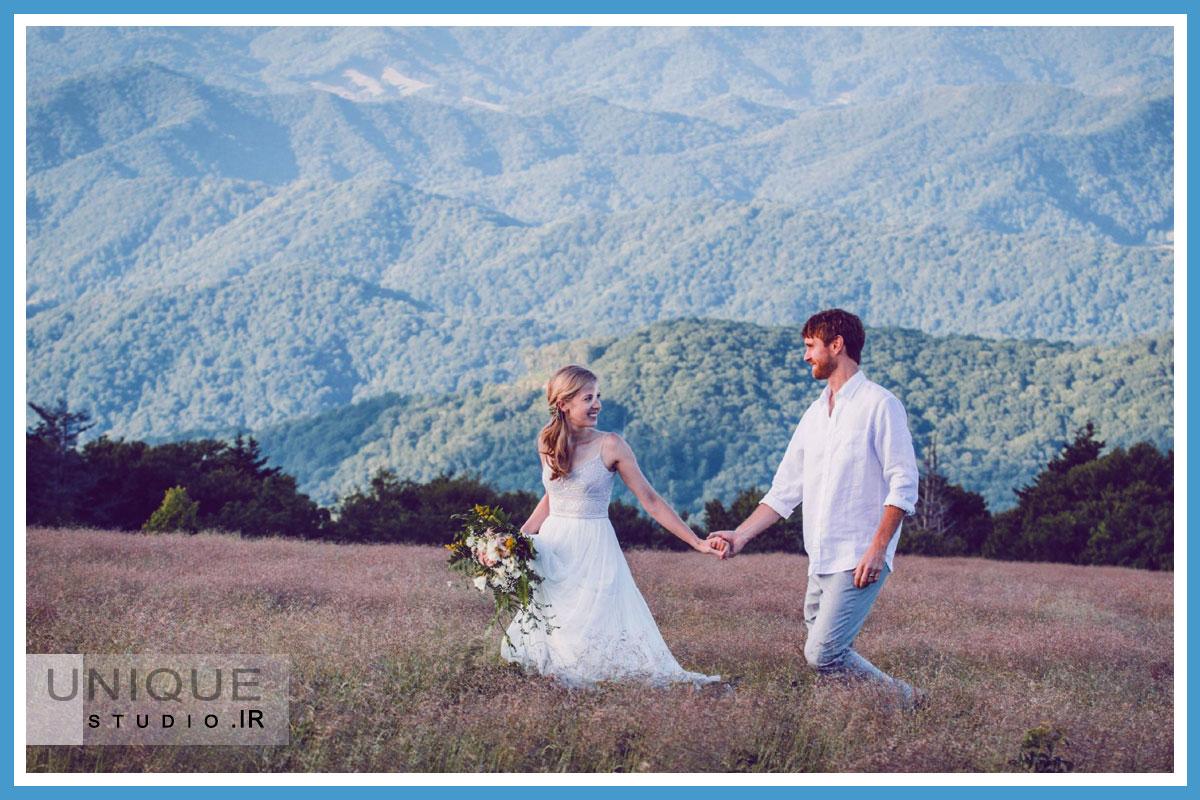 مدل عکس آتلیه عروس داماد