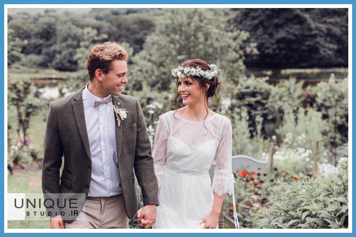 کاهش استرس عروس و داماد