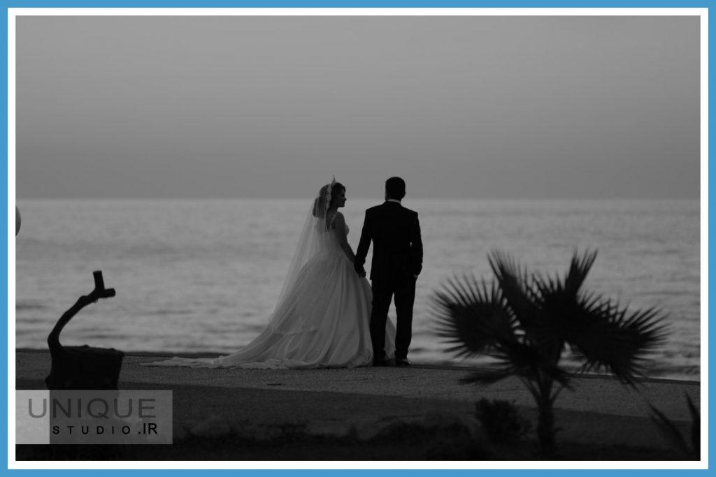 فرمالیته عروسی کنار دریا