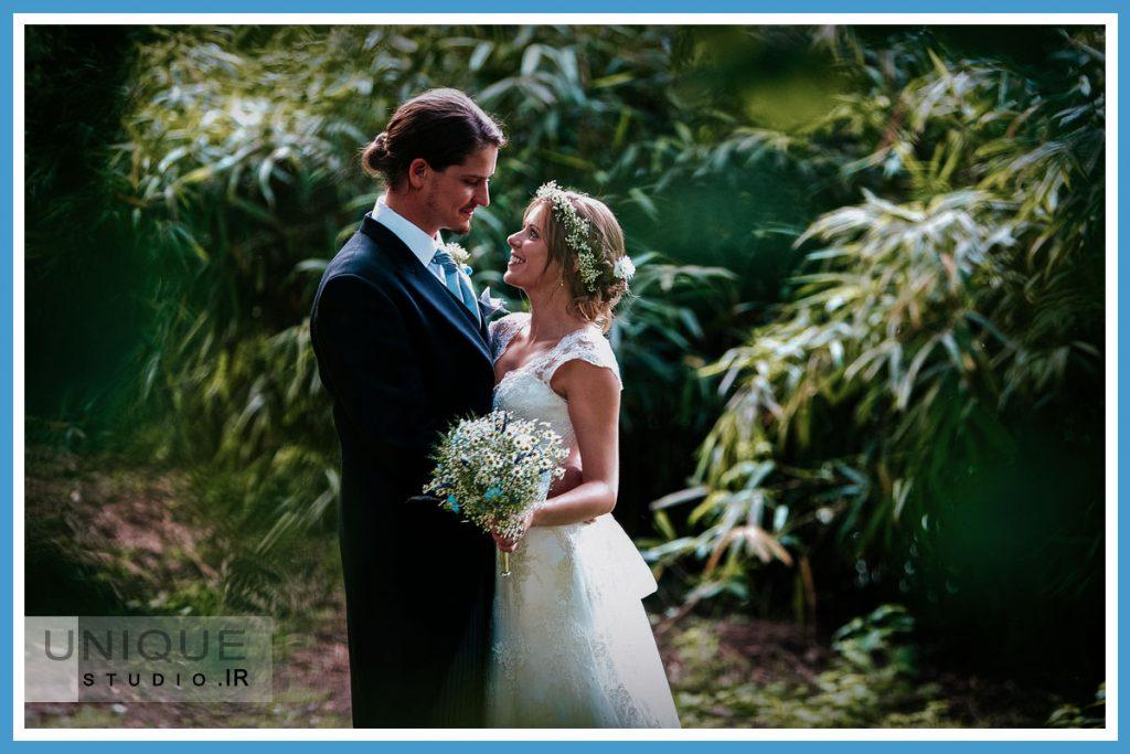 مدل عکس آتلیه عروس و داماد