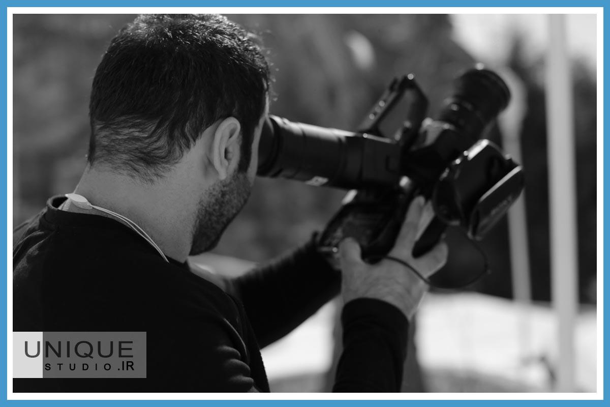 دوربین در آتلیه عروس